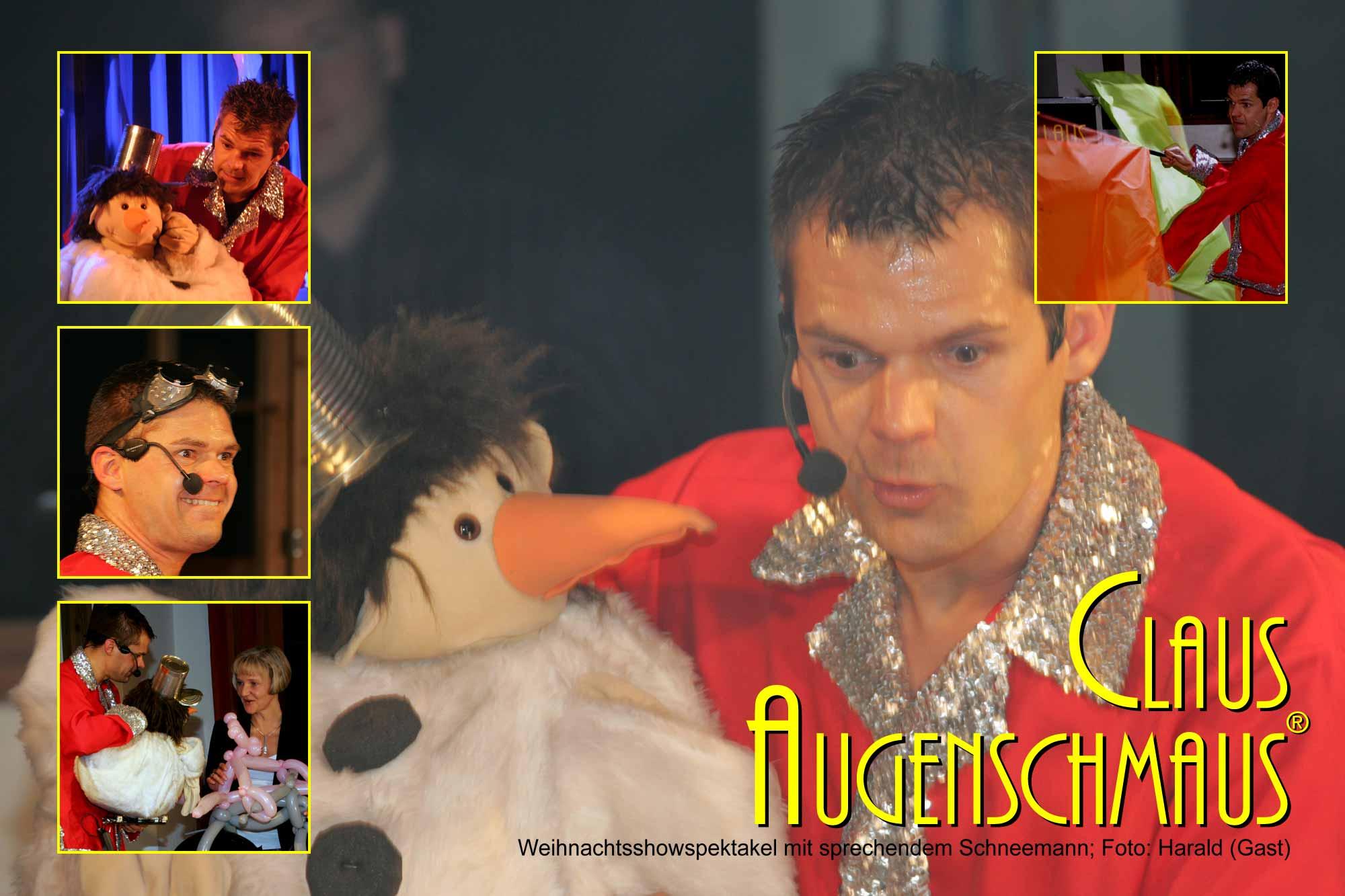 Clown Weihnachtsfeier Showprogramm buchen.