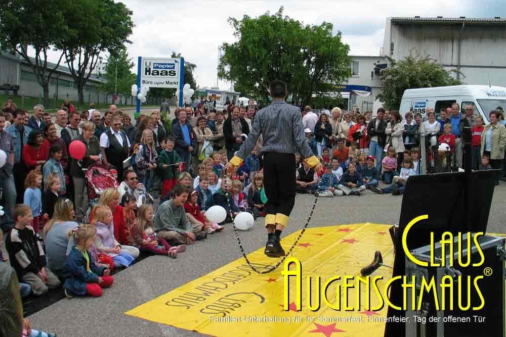 Clown buchen zum Sommerfest, Weihnachtsfeier, Straßenfest, Tag der offenen Tür